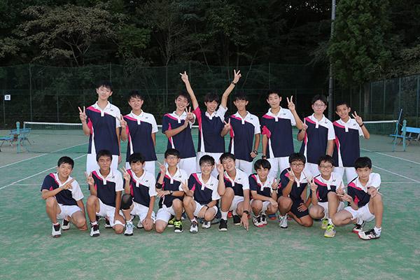 [中学]男子硬式テニス部