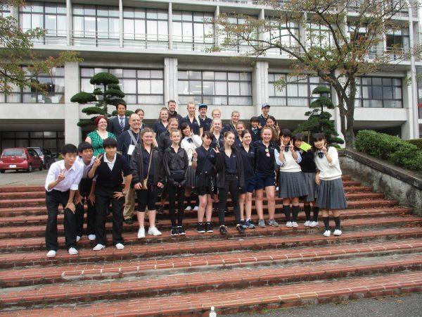 Moonta校(オーストラリア)の学校訪問