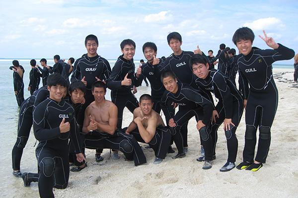 修学旅行(高2、沖縄)