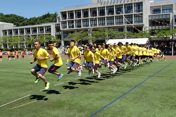 戸富貴祭(体育の部・高校)