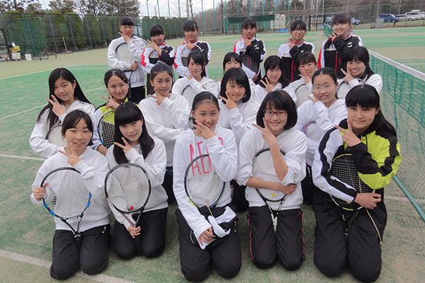 [中学]女子硬式テニス部