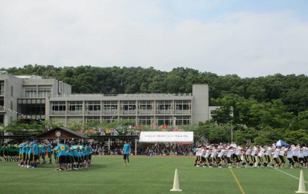 高校2年生 体育祭の様子