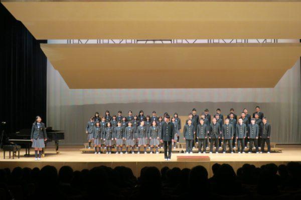 高校1年生 合唱コンクール