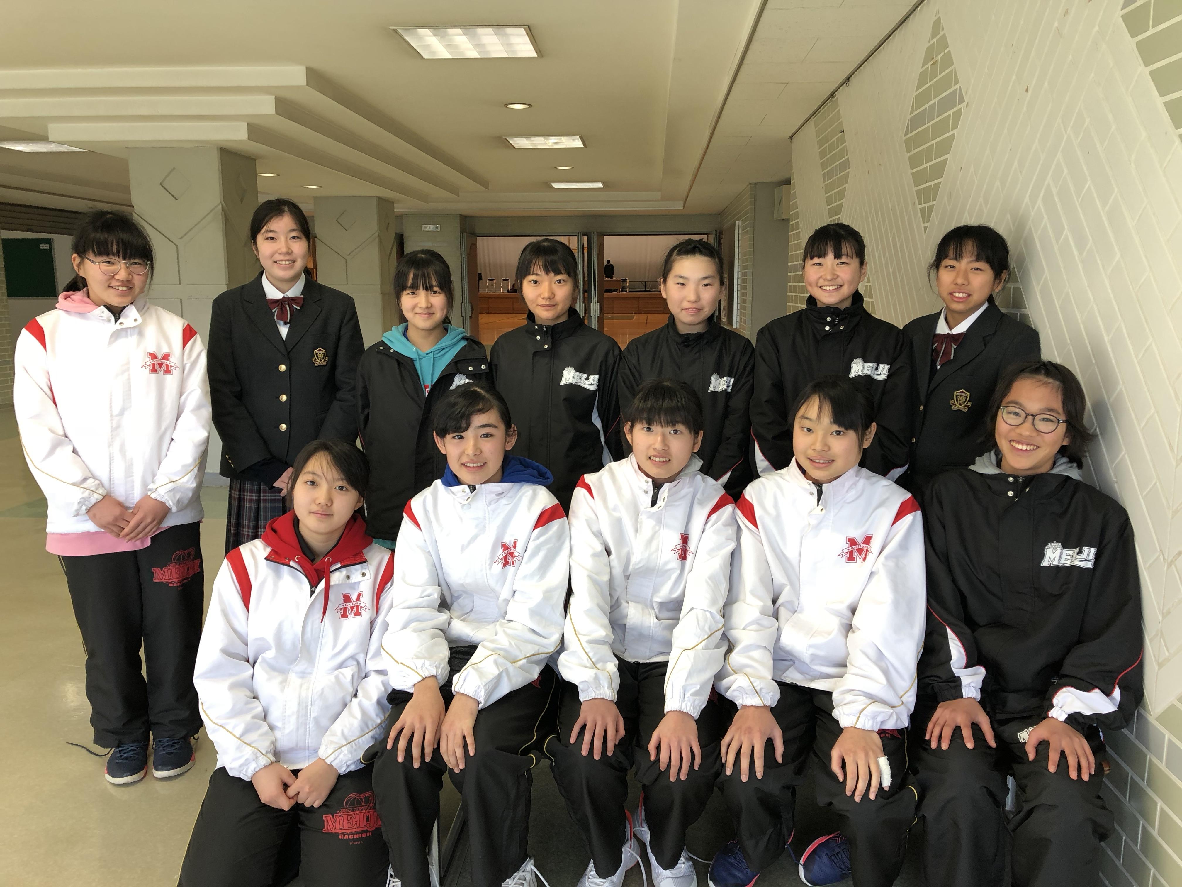 [中学]女子バスケットボール部