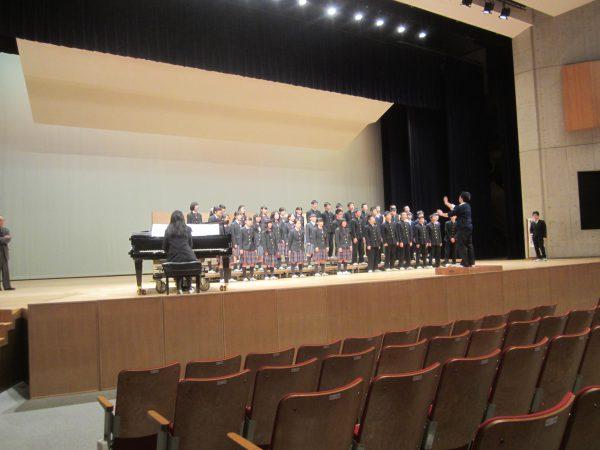 中学校 合唱祭